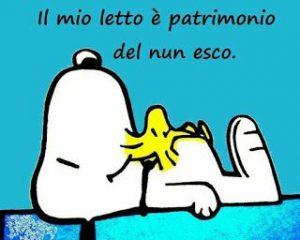 Snoopy immagine buongiorno divertente