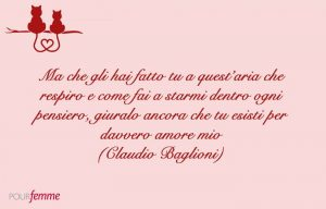 frasi damore tratte dalle canzoni